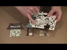 More Wonky Mixed Media Houses! by Joggles.com - YouTube