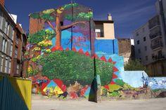 Street art | Mural (Zaragoza, Spain) by Popay [aka Juan Pablo de Ayguavives]