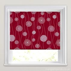 Image result for red and white blinds