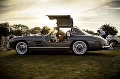 Save the date: pebble Beach Concours d'Elegance Aug. 21! Until then... 1955 300 SL at the 2015 Pebble Beach Concours d'Elegance.  #mercedesbenz #pebblebeach #300sl #gullwing #w198 #concours #mbenz #lifestyle #timeless #carlove #carphotography #instagood #mbphoto #carlove #legacy #history #timeless #like #instafast
