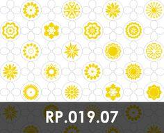 Retro patroon nr.019