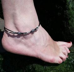 Hey, I found this really awesome Etsy listing at https://www.etsy.com/listing/536638745/leather-anklet-bracelet-beach-anklet