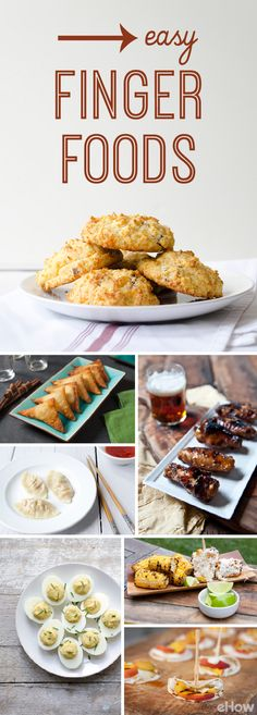 Just in time for summer BBQs and picnics, these easy finger foods are exactly what your cookout needs! All the recipes included: http://www.ehow.com/list_7368019_easy-food-fourth-july-snacks.html?utm_source=pinterest.com&utm_medium=referral&utm_content=curated&utm_campaign=fanpage