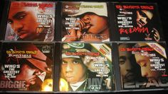 Various Artist Mixtape CD's Lot Of (6 Discs) Who's The Greatest MC? Collection #PressureMP3.com