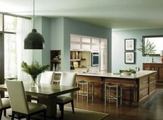Fresh paint is an easy way to give your kitchen a new look.  #PrescottKitchens http://prescottkitchens.com/