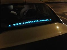 Light Tape Vehicle MicroBranding  http://www.lighttape.co.uk