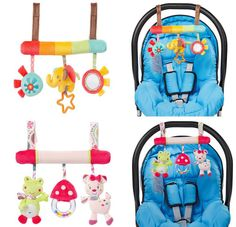 frog elephant  baby music hanging bed Multifunctional Plush Toy Stroller Mobile safety seat plush toy Hand Bell Gifts 50% off