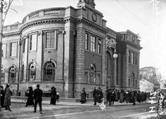 Rathmines Library in the early Century Old Pictures, Old Photos, Vintage Photos, Photo Engraving, Dublin City, Book Of Life, Wonderful Places, Ireland, Street View