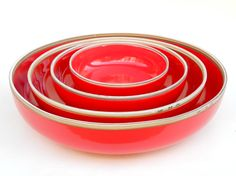 Hermit Rustic Nesting Bowls