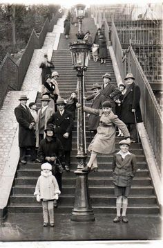 On the steps of Montmartre - 1930. The blogger (Christian Wacrenier) always has fascinating stories about the people and times in Montmartre. If you don't read French, open the blog in Google Chrome for automatic Google translation.