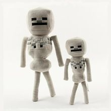 1PCS 24cm/36cm Minecraft Plush Toys Minecraft Game Skeleton Stuffed Plush Toys Dolls Cartoon Soft Toy for kids Christmas Gifts