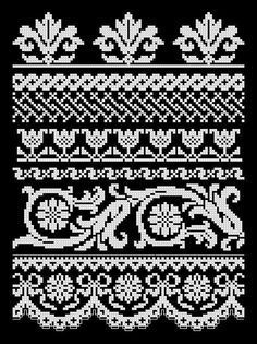 Gallery.ru / # 22 - Sampler - modern - dutch-misty  #dutch #gallery #misty #modern #sampler Crochet Borders, Cross Stitch Borders, Cross Stitch Samplers, Filet Crochet, Cross Stitch Charts, Cross Stitch Designs, Cross Stitching, Cross Stitch Embroidery, Embroidery Patterns