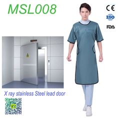 lead-free Long sleeve aprons radiation protection for sale