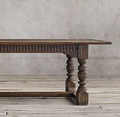 Reclaimed Wood Zinc Strap Rectangular Dining Table Doesnt