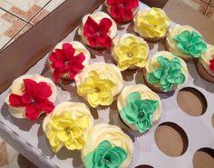 Mehndi cupcakes!