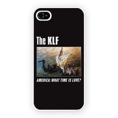 KLF - America What Time Is Love iPhone 4 4s and iPhone 5 Case