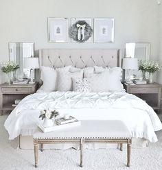 Blanc et crème pour des nuits paisibles. ... - Michèle Daniels - Google+
