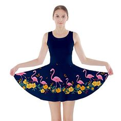 df5a9a897a CowCow Womens Navy Japanese Food Sushi Pattern Skater Dress Navy   Learn  more by visiting the image link.