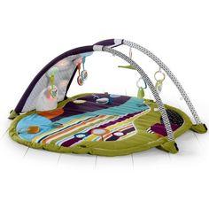 Le tapis d'éveil Stargaze par mamas and papas est un tapis d'éveil innovant et intéractif. Idéal pour le développement et l'éveil de bébé.