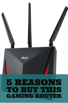 The Asus RT-AC86U is a fast AC2900 dual band router that's equipped with  the latest networking technology and is loaded with gamer optimization  and network protection features.