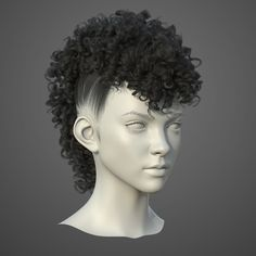 hair_test, euginnx _Wu on ArtStation at https://www.artstation.com/artwork/ZkLRX