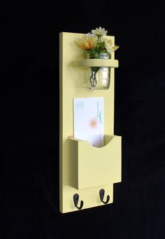 Mail Organizer Letter Holder Mail Holder Mail by LegacyStudio