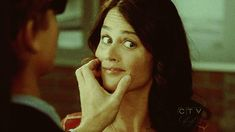 The Mentalist - When Jane was blind for an episode... LOL!