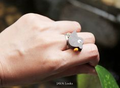 Fashion wooden adjustable rings handmade jewelry and by JAVALooks, $8.86 #fashion #handmade #etsy