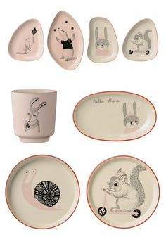 Bloomingville Mini Range 2015 Mollie tableware