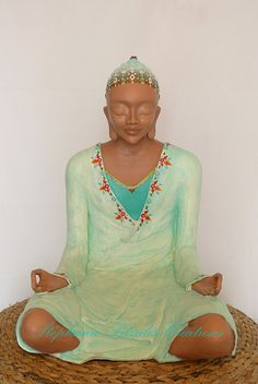 très grand bouddha vert turquoise Vert Turquoise, Illustrations, Creations, Zen, Buddha, Illustration, Illustrators