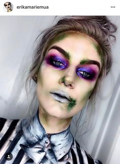 10 Stunning Makeup Ideas for Halloween Cocktails Halloween, Menu Halloween, Unique Halloween Makeup, Costume Halloween, Halloween Inspo, Halloween Makeup Looks, Halloween Outfits, Halloween 2019, Gothic Makeup