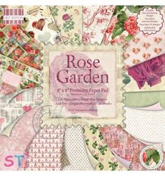 Paper pad Rose Garden 8x8 First Edition
