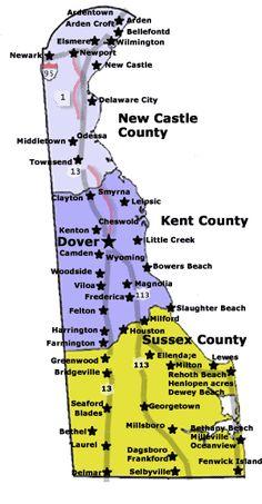 Dover De Zip Code Map.7 Best Delaware Map Az Images 3rd Grade Social Studies School