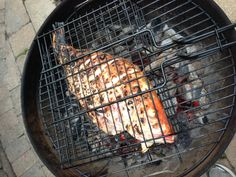 Grilled Red Snapper from Dirk's Fish (Steve Raichlen recipe).