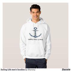 Sailing Life men's hoodies - Stylish Comfortable And Warm Hooded Sweatshirts By Talented Fashion & Graphic Designers - #sweatshirts #hoodies #mensfashion #apparel #shopping #bargain #sale #outfit #stylish #cool #graphicdesign #trendy #fashion #design #fashiondesign #designer #fashiondesigner #style