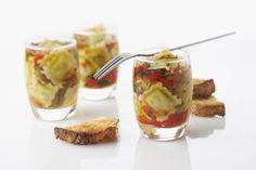 recette gastronomie drome drôme ravioles verrines http://www.vin-gastronomie-drome.com/