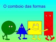 Formas geométricas by Eduanabela via slideshare