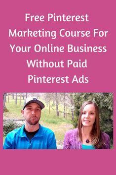 Pinterest Marketing, Online Business, Entrepreneur, Ads