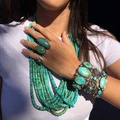 cce5905e2 498 Best Turquoise, Silver & Coral, Native American jewelry images ...