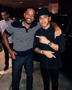 One of the most inspiring genuine and wisest people you'll ever meet. #WillSmith #miami #Legendary by lewishamilton