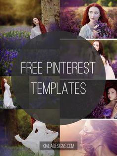 Kimla Designs and Photography : Freebie Friday - Free Pinterest friendly Templates...