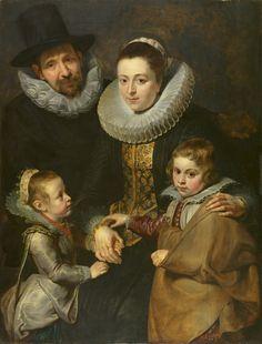 Family of Jan Bruegel the Elder by Sir Peter Paul Rubens, by Peter Paul Rubens