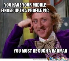 Willy Wonka humour