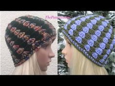 How to Crochet Vertical Stripes Beanie Hat Pattern #48│by ThePatterfamily - YouTube