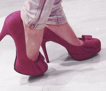 Inspiring picture bow, bows, fashion, feet, heals, heels.