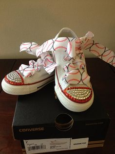Rhinestone converse by FleurdeBling on Etsy cd5bdf7af