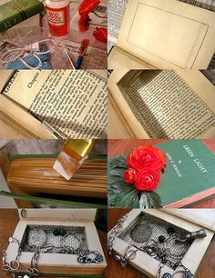 Book Jewelry Box