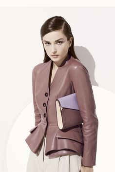 Christian Dior - Pre Spring 2013 Absolutely love the paneling and the overall construction of the jacket how it tapers in by the waistline
