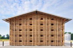 bamboo screen (mason lane farm operations facility)