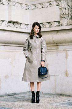 #HanneliMustapartaVanessa Jackman: Paris Fashion Week SS 2013...Hanneli